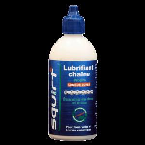 bouteille lubrifiant chaine cire, squirt lube graisse qui ne noircit pas